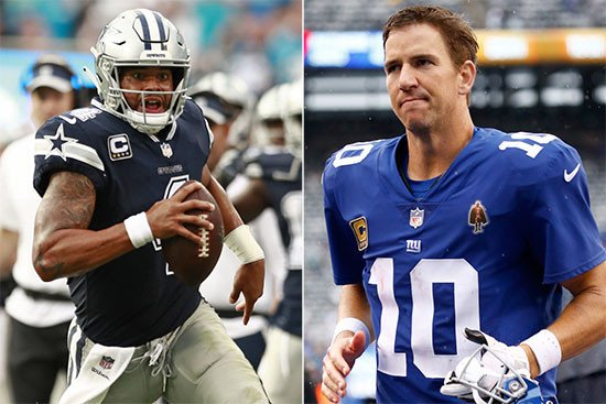Giants and Cowboys face much more than a rivalry game