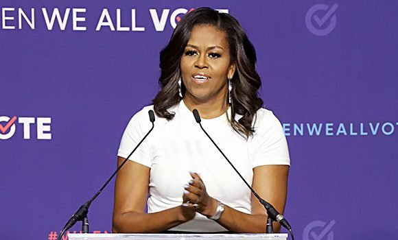 When We All Vote: Michelle Obama Admits She's Tired Of 'The Chaos' & Urges Americans To Vote