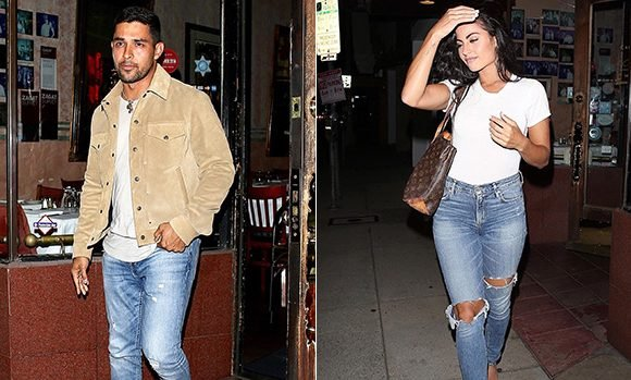Wilmer Valderrama Out WIth Gorgeous Demi Lovato Look-Alike As Singer Remains In Rehab