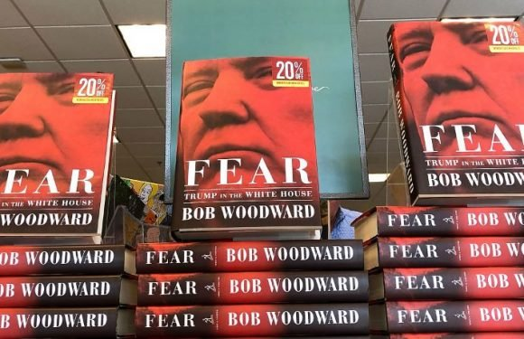 Woodward Says He Has 'Boxes Of Recordings And Documents' To Back Up Claims In Trump Book