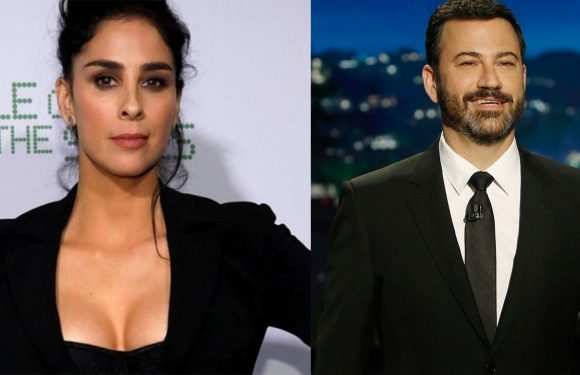 Sarah Silverman and ex Jimmy Kimmel joke about getting back together once 'tryst' with his wife is over
