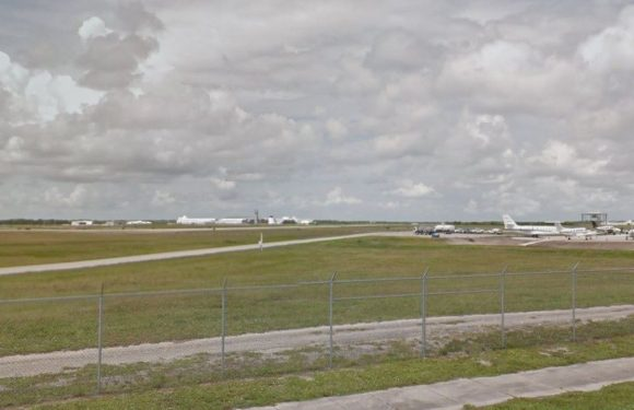 Florida airport locked down after suspect boards vacant commercial airliner, official says