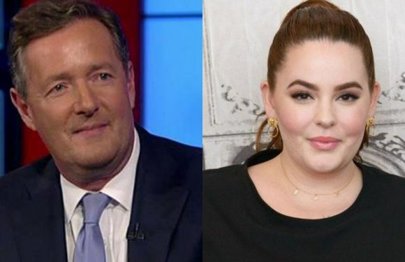 Tess Holliday claps back at Piers Morgan for body shamming comment: 'You've been obsessed with me'