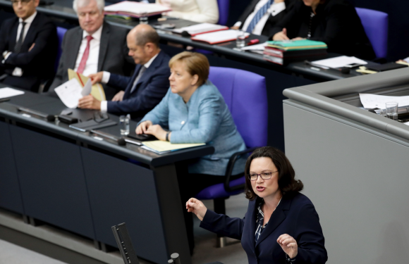 German government reaches deal to solve spy chief dispute