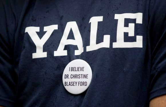 Yale Law School professors cancel class as students protest Kavanaugh nomination