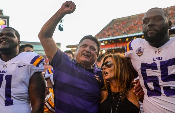 LSU and Ed Orgeron look to have pieces to make playoff run after gritty Auburn win