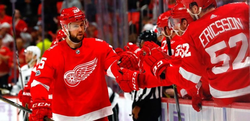 Red Wings defenseman Mike Green will miss start of season with virus attacking his liver