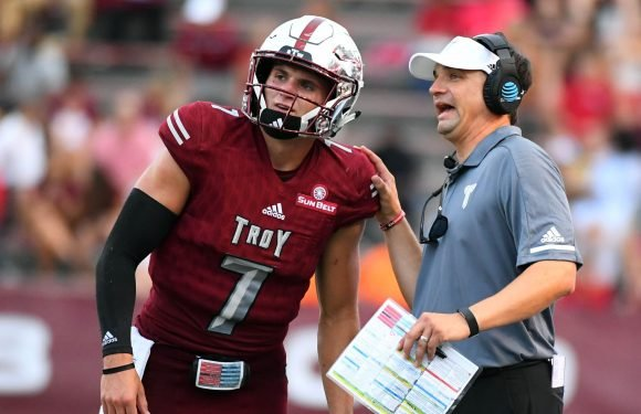 Troy's win over Nebraska is the latest accomplishment for Neal Brown's growing program