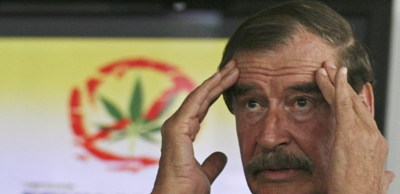 Mexico's former president says legalized marijuana is a paradigm shift, but greed could take the industry down a dangerous path