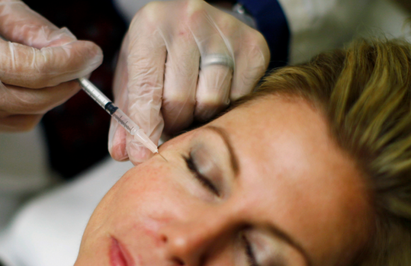 The maker of Botox is going after millennials who are thinking about wrinkle-smoothing treatments and has hired a fashion and beauty executive to lead its effort