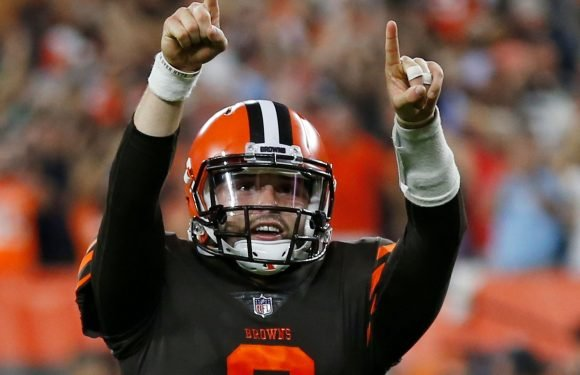 Baker Mayfield leads rally as Cleveland Browns end 19-game winless streak