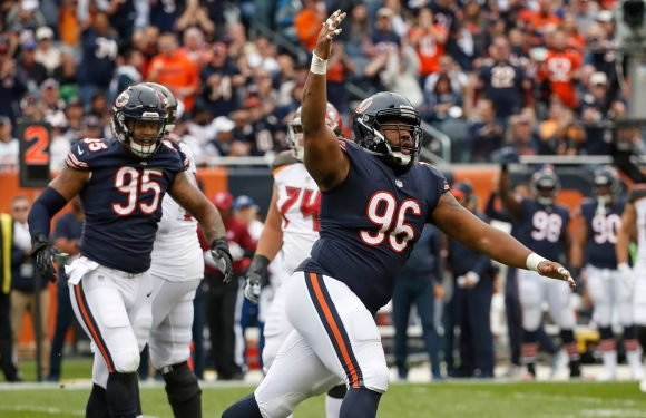 Bears' Akiem Hicks ejected for pushing official
