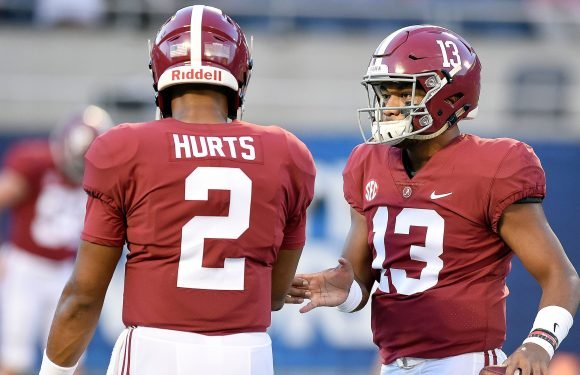 Respect? Nick Saban isn't showing it to Jalen Hurts by pretending he's still a factor at QB