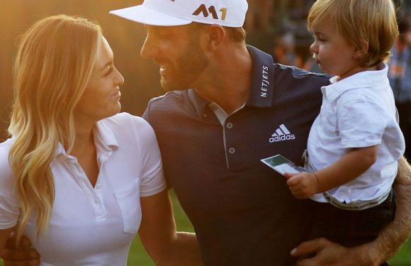 What's up with Dustin Johnson, Paulina Gretzky?