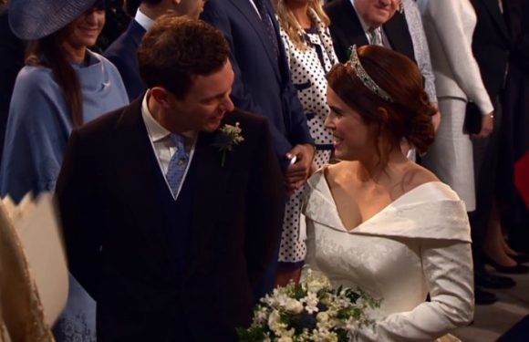 Royal Wedding: Princess Eugenie and Jack Brooksbank Lovey-Dovey Throughout Ceremony