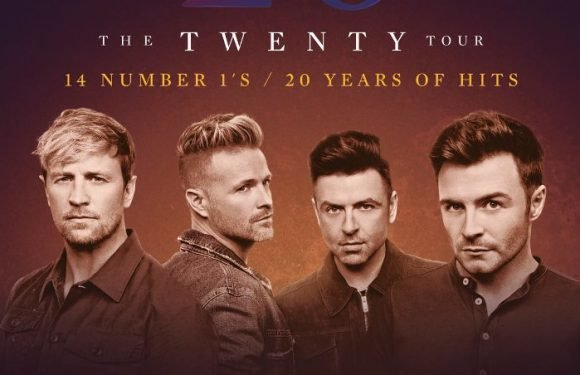 Westlife to Celebrate 20th Anniversary With Europe Tour – Find Out the Dates!