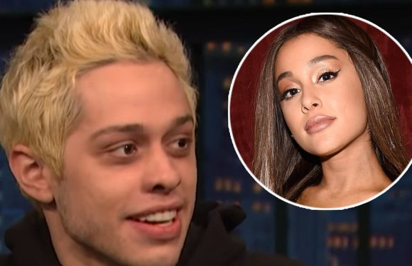 Pete Davidson Slammed For Joking About Baby Trapping Ariana Grande — Swapping Out Birth Control Pills