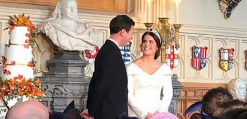 Inside Eugenie's lavish wedding lunch after guests ignore social media ban