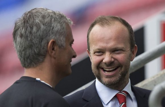 Fans notice Ed Woodward's reaction after Newcastle score shock second goal