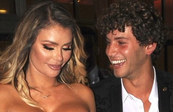 Chloe Sims and Eyal Booker leave boozy ITV Palooza together