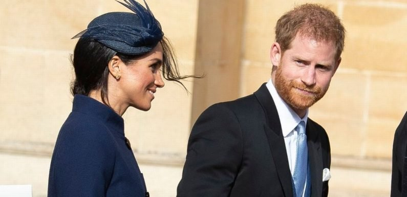 Meghan Markle and Harry missed a huge part of Eugenie's royal wedding