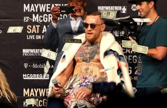 Conor McGregor brags about astronomical payday for 'clattering' Khabib