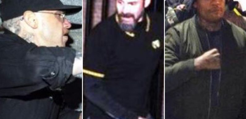 NYPD seeking men caught on video in 'Proud Boys' brawl