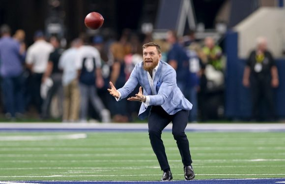 Conor McGregor sucks at football