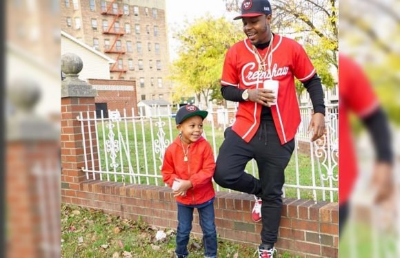 Photo shows smiling Bronx dad and son before fatal shooting
