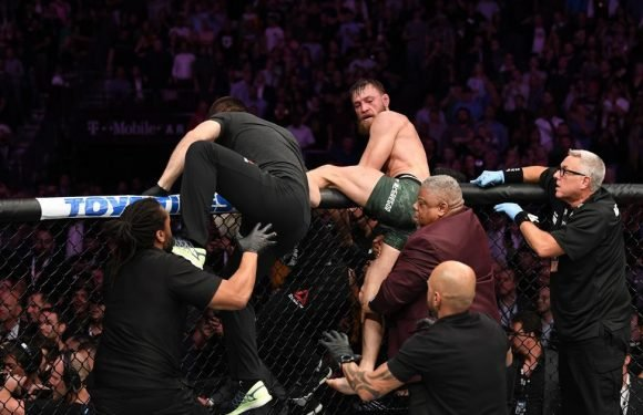 McGregor attacked by Khabib's team-mates in disgusting Octagon assault