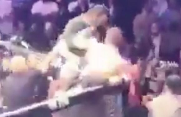 Was McGregor vs Khahib post match brawl faked to drum up some publicity