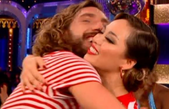 Seann Walsh and Katya Jones' secret flirty exchange during Strictly revealed