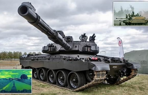BAE Systems unveils its 'Black Night' tank to upgrade the Challenger 2