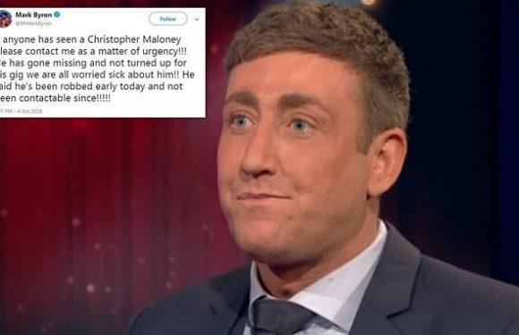 Fears for X Factor star Christopher Maloney after he 'went missing'
