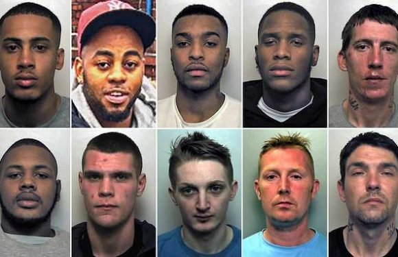 Drugs gang who ran county lines ring are jailed for total of 53 years