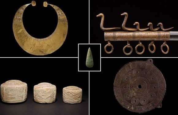 Stonehenge exhibition shows ancient relations with Europe