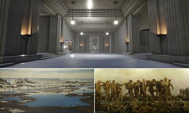Virtual reality tour shows AMAZING memorial to fallen soldiers