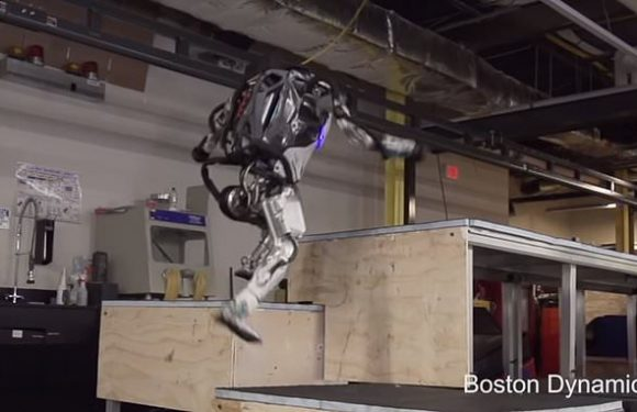 There's no escape now… Atlas robot revealed  running and jumping