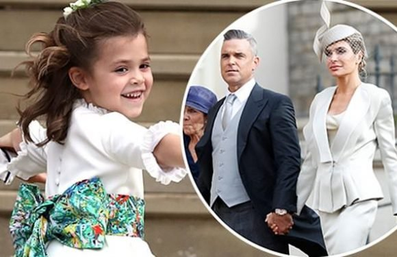 Theodora Williams makes first public appearance at Royal wedding
