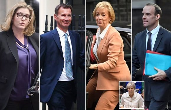 PM gathers Cabinet as she scrambles to get EU talks back on track