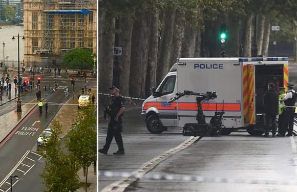 Westminster street on lockdown as police probe suspicious package