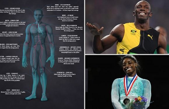 Design for 'ultimate superhuman' unveiled including Usain Bolt's legs