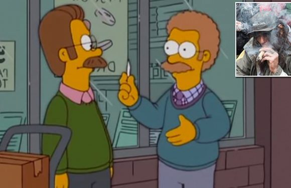 The Simpsons predicted Canada's legalization of cannabis in 2005