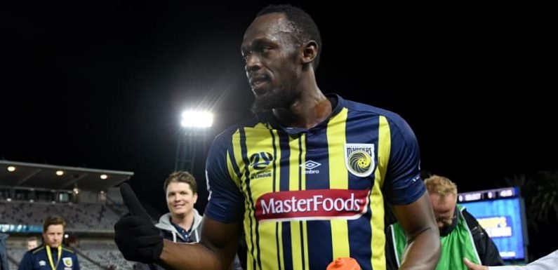 Bolt to start up front for Mariners in tilt for A-League deal