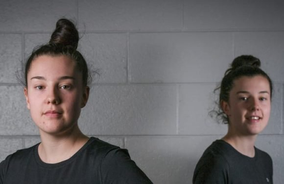 Seeing double: The Haines twins are hard to split