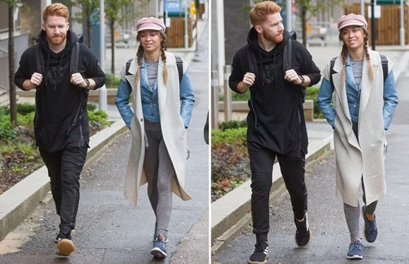 Strictly's Katya Jones and husband Neil seen together for the first time since she was caught kissing dance partner Seann Walsh
