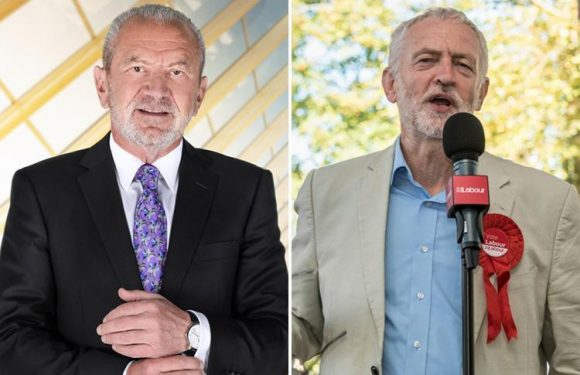 Lord Alan Sugar promises to LEAVE the UK if Jeremy Corbyn makes it to No10