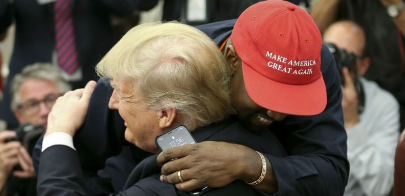 Trump Describes Kanye West's White House Visit As 'Quite Something'
