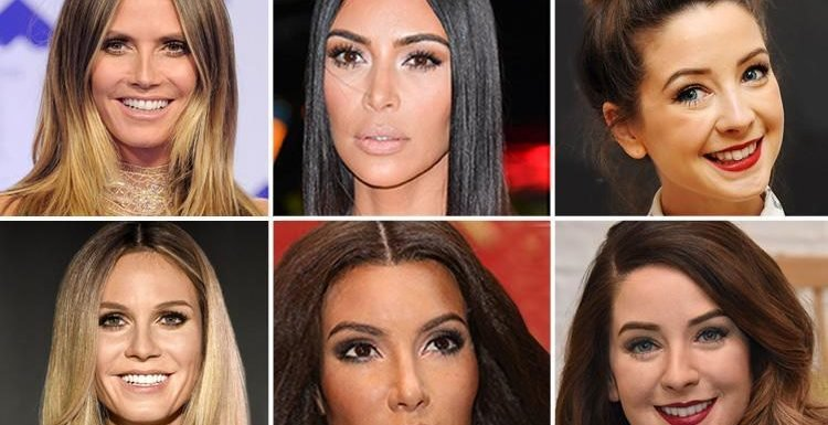 Kim Kardashian has been compared to a waxwork… but can YOU tell the real celebs apart from these plastic dolls? – The Sun