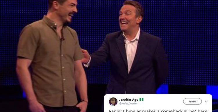 The Chase viewers in hysterics as Bradley Walsh gets the giggles over Fanny Chmelar AGAIN
